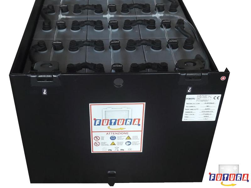 Lead acid batteries for forklifts 18x5PzS400 // Traction ...