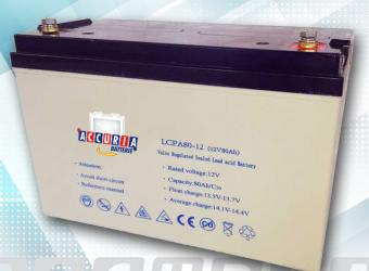 AGM deep cycle battery 12V - 80ah