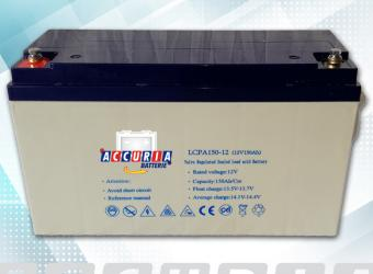 AGM deep cycle battery 12V - 150ah