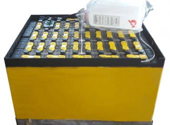 Regenerated 36V battery for forklifts