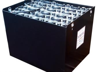 Traction battery for forklifts