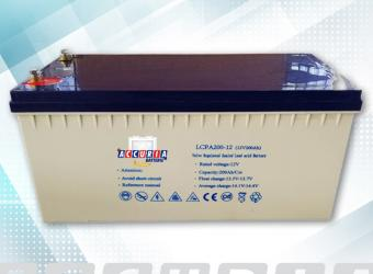 AGM deep cycle battery 12V - 200ah