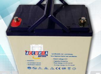AGM deep cycle battery 12V - 55ah