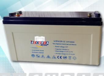 AGM deep cycle battery 12V - 120ah