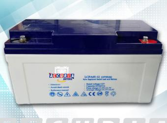 AGM deep cycle battery 12V - 65ah