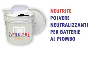 Polvere assorbente neutralizzante per batterie al piombo - neutrite