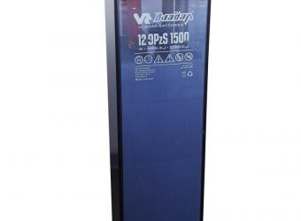 Batteria solare OPzS stazionaria per accumulo