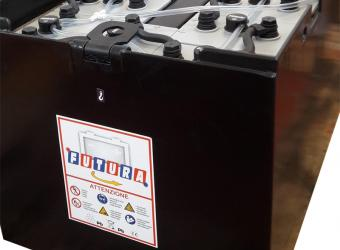 Batteria per carrelli elevatori al piombo acido