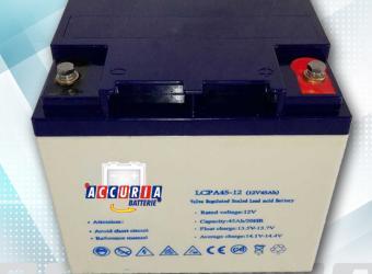 Batteria Agm 12V - 45ah